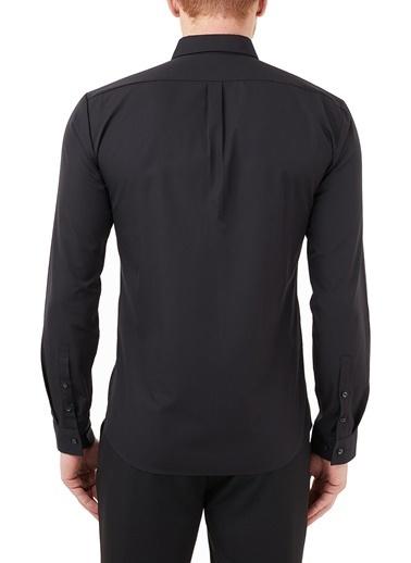 Hugo Boss  Extra Slim Fit % 100 Pamuk Gömlek Erkek Gömlek 50450179 001 Siyah